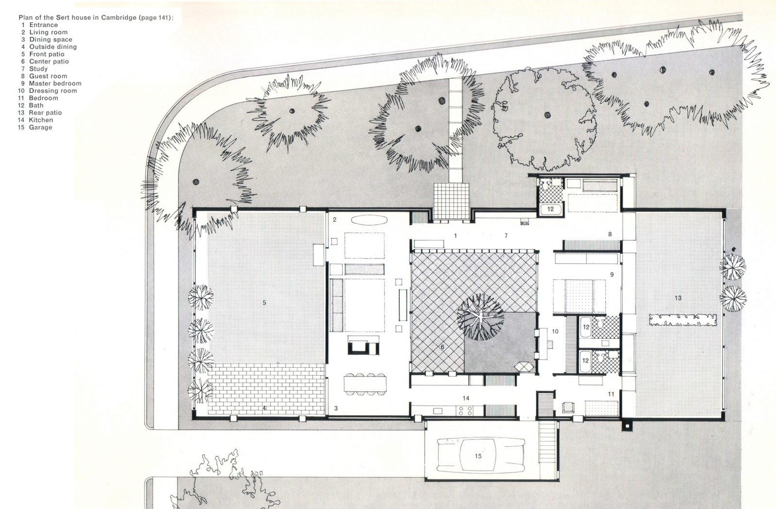 Casa sert circarq for Planos de casas con patio interior