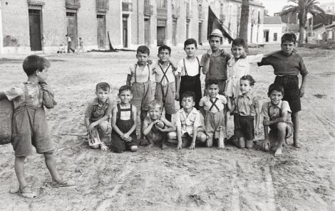 Plaza de los Hombres del Mar 1950 Robert Frank