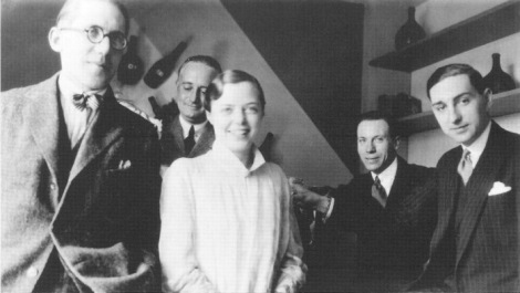le-corbusier-percy-scholefield-charlotte-perriand_s-first-husband-charlotte-perriand-george-d-bourgeois-and-jean-fouquet-at-the-salon-d_automme-paris-1922-photo-by-piere-je1