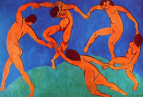 dance-ii-1910 la danza II Henri Matisse expresionismo fauvismo frases citas celebres phrases quotes hermitage san petersburgo-495