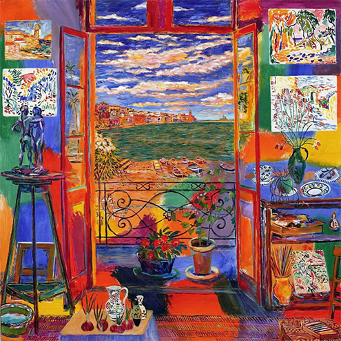 Matisse 1869 1954 circarq for Matisse fenetre ouverte collioure