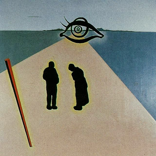 Salvador Dali - The Eye of the Angelus (stereoscopic work, left component_ unfinished), 1978