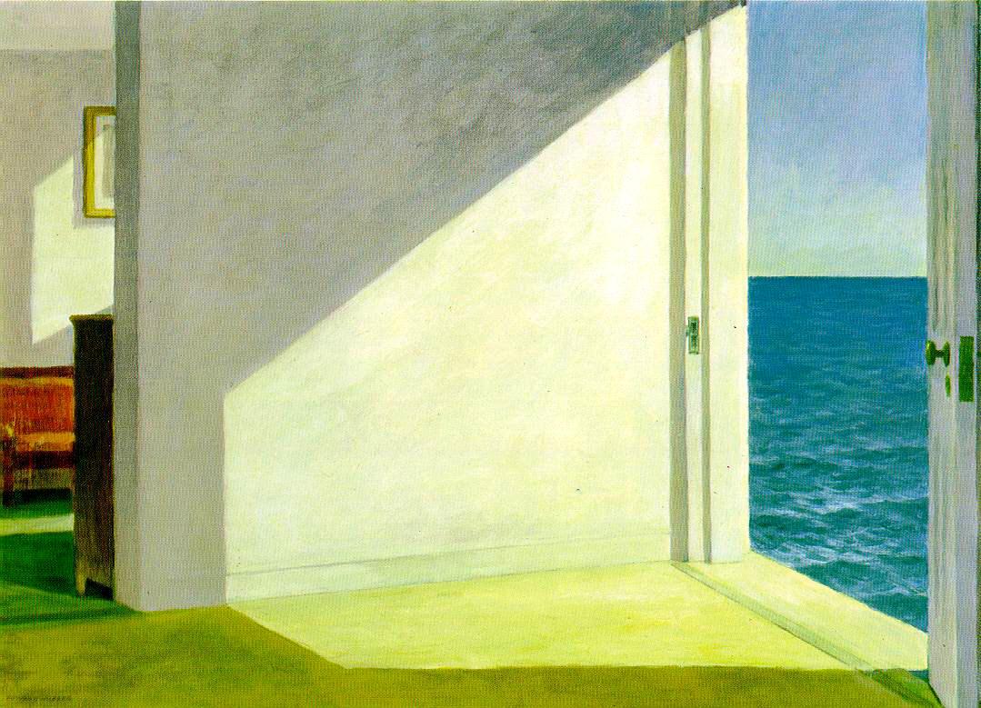 DE PUERTAS A DENTRO Hopper-room-sea