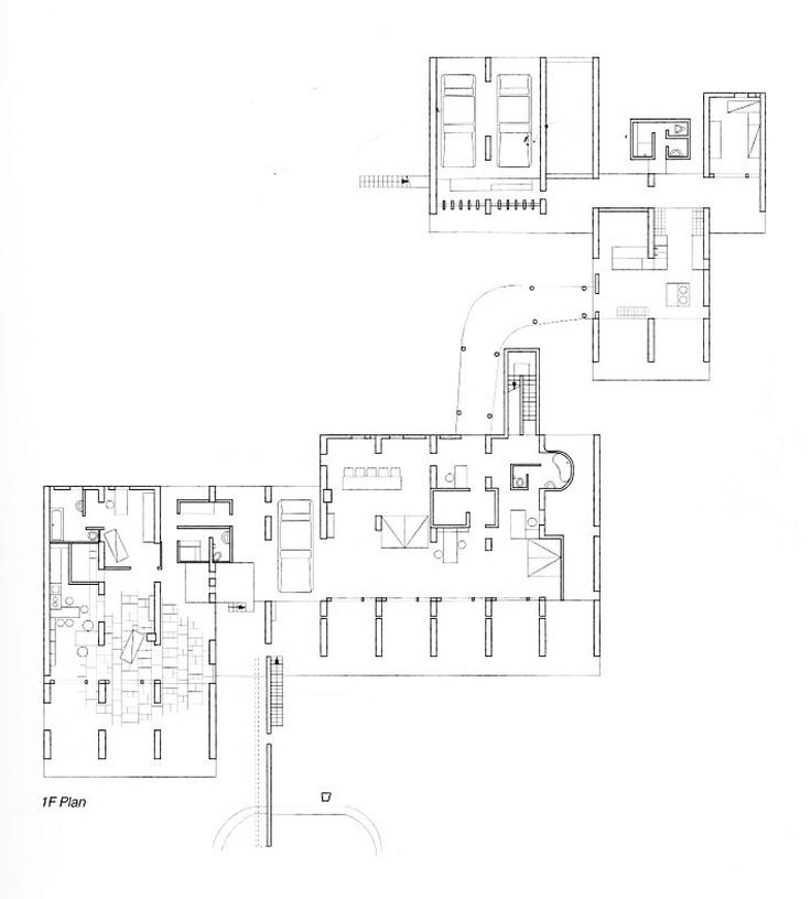 Villa de Madame Manorama Sarabhai _ planta