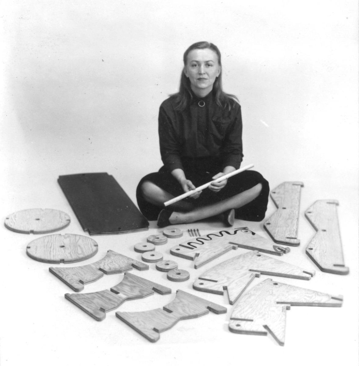 Anne Tyng. Arquitecta, maestra y gran teórica.