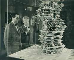 modelo de city tower, kahn y jonas salk