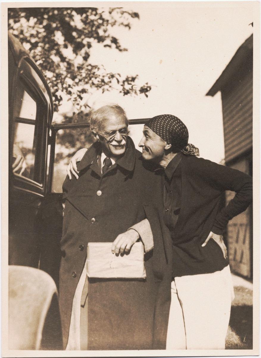 Alfred Stieglitz y Georgia O´Keeffe. El fotógrafo y la pintora.
