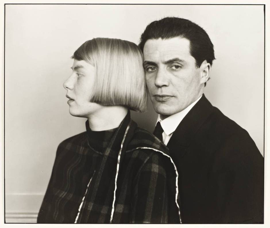 The Architect Hans Heinz Luttgen and his Wife Dora 1926, printed 1990 August Sander 1876-1964 ARTIST ROOMS Tate and National Galleries of Scotland. Lent by Anthony d'Offay 2010 http://www.tate.org.uk/art/work/AL00142
