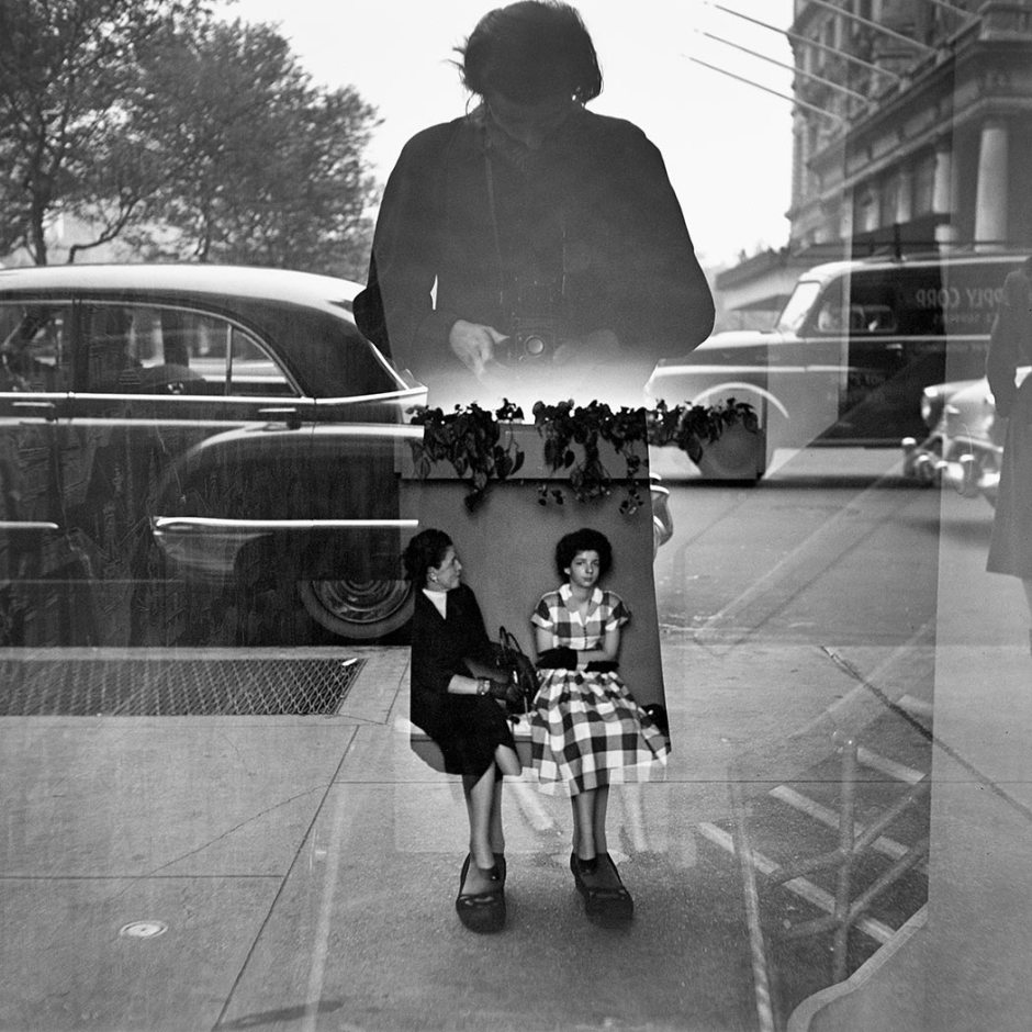 vivian_maier_autorretrato_1954