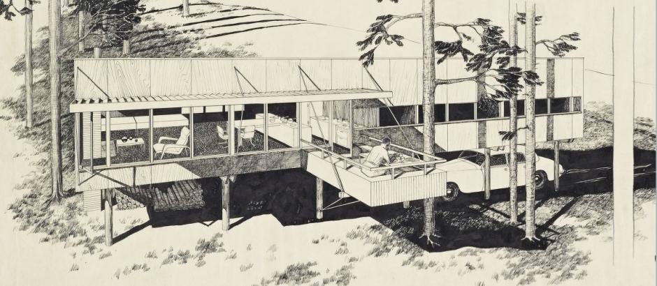 dibujo-de-la-breuer-cottage