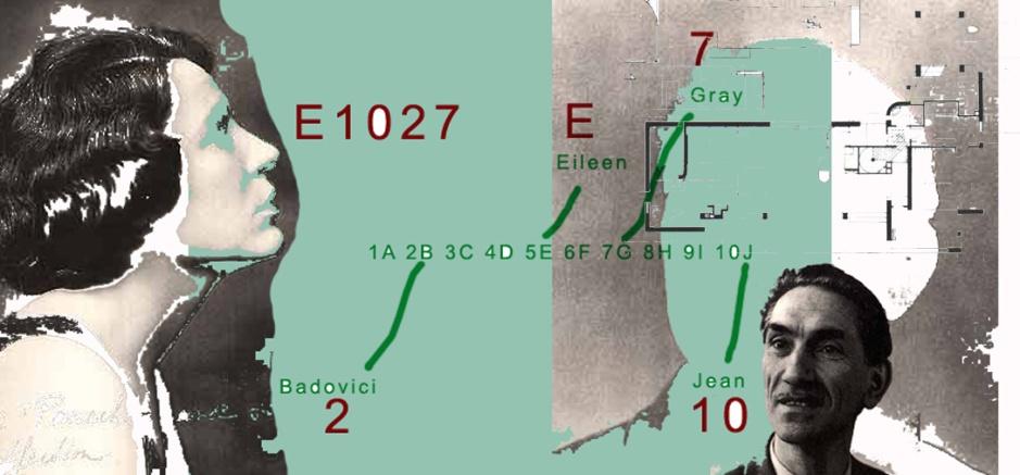 Eileen Gray und Jean Badovici (Grafik Berena News)