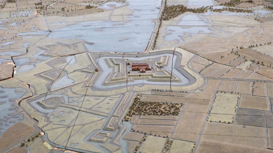 fort_de_roovere_-_plan-relief_1751