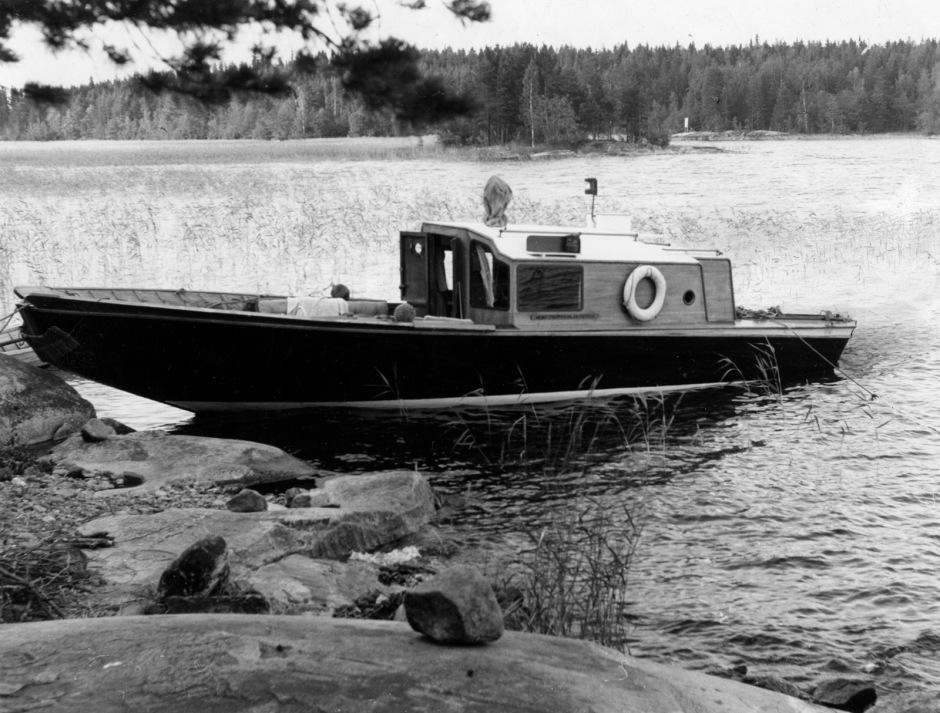 Muuratsalo Experimental House, the boat Nemo Propheta in Patria