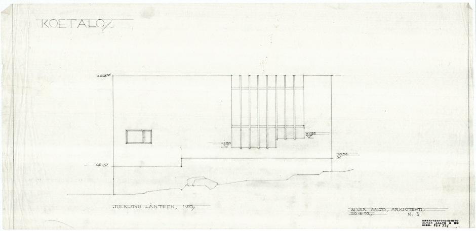 Muuratsalo Experimental House by Alvar Aalto 1952-1954